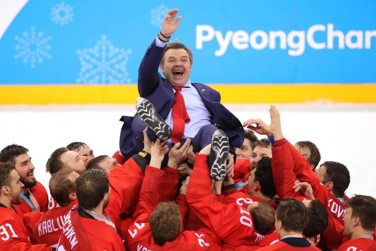 Олег Знарок возглавил сборную России по хоккею и повезёт её на Олимпиаду-2022