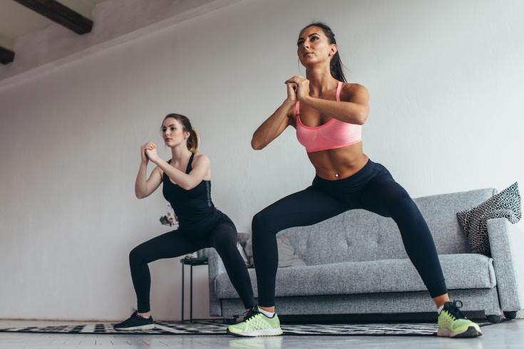 Упражнения для домашней тренировки. Видео