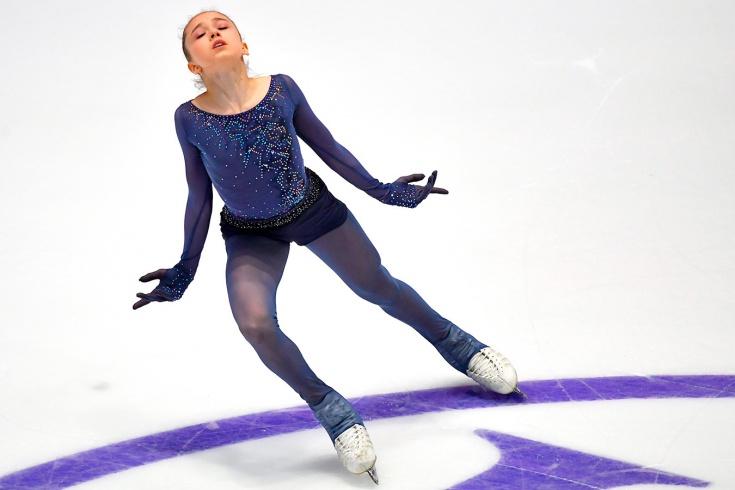 Валиева установила рекорд на ЮЧМ-2020