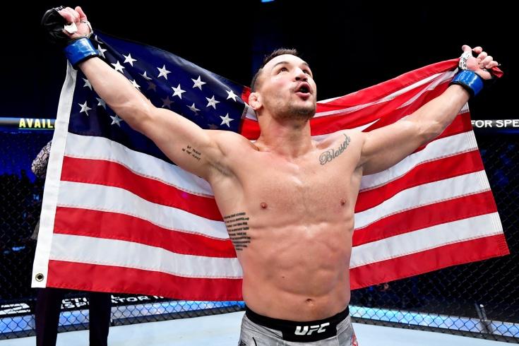 Дэн Хукер — Майкл Чендлер — обзор боя UFC 257, победа нокаутом, видео