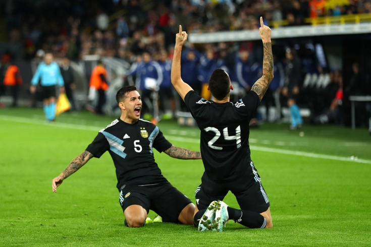 Германия и Аргентина встретились спустя 5 лет
