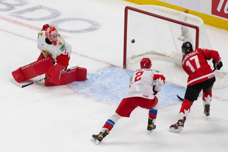 Сборная России испугалась Канаду. Быстро получили 0:4, Аскаров постоянно терял клюшку