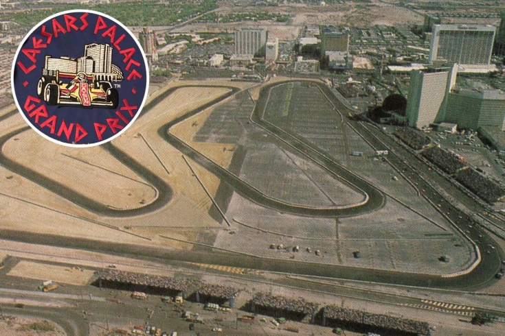 История одной из худших трасс Формулы-1. Просто огородили парковку у казино в Лас-Вегасе