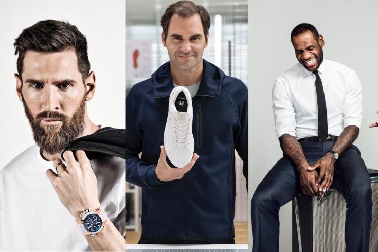 Какие рекламные контракты подписывают со спортсменами: Федерер, Леброн, Месси, Хэмилтон