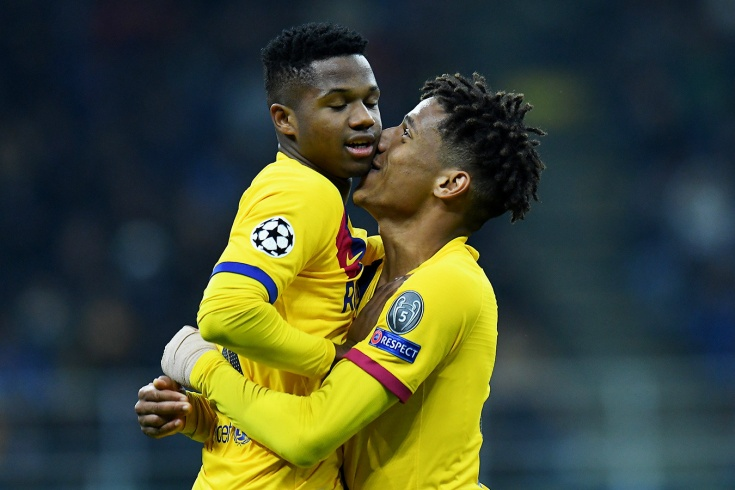 «Интер» — «Барселона» — 1:2, голы Фати и Лукаку