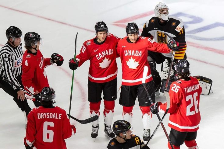 Канада забросила немцам 16 шайб за матч! Зачем было издеваться и ставить рекорды?