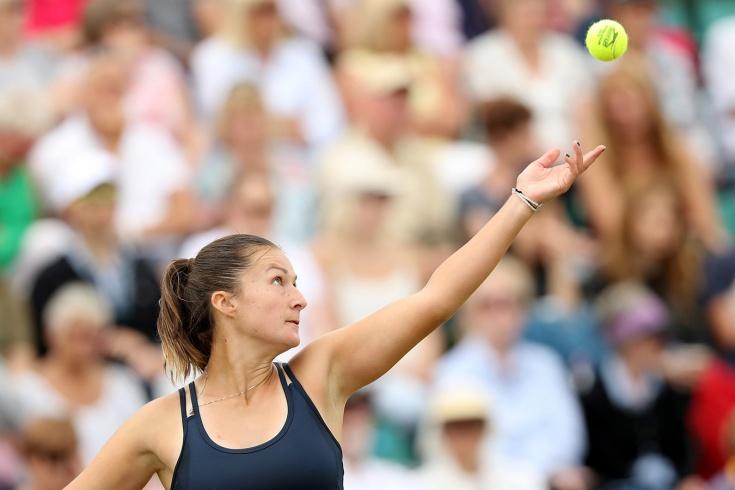 «Я не могла дышать». Словенская теннисистка упала