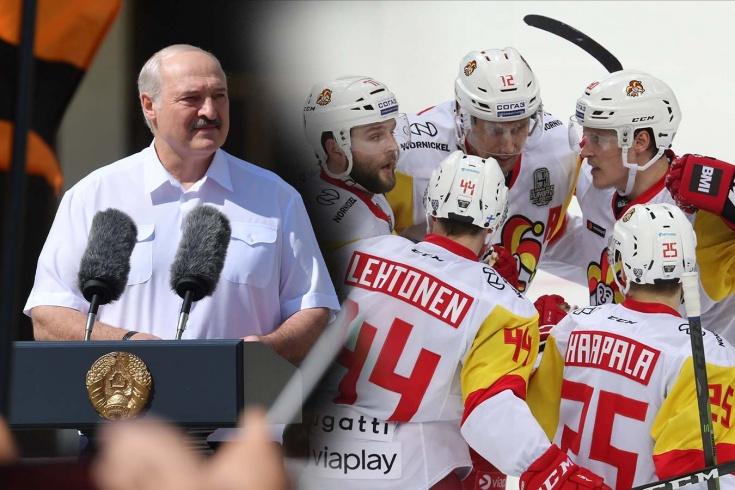 «Матч с командой Лукашенко – это поддержка диктатора». Что пишут о бойкоте «Йокерита»