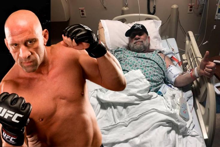 Первый чемпион UFC оказался в больнице. Врачи едва спасли Молота от сердечного приступа