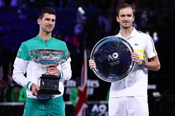 Финал Australian Open – 2021: Новак Джокович победил Даниила Медведева, теперь у серба 18 «шлемов»