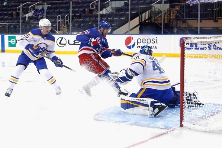 Рейнджерс — Баффало — 3:2 – видео, голы, обзор матча регулярного чемпионата НХЛ 2021