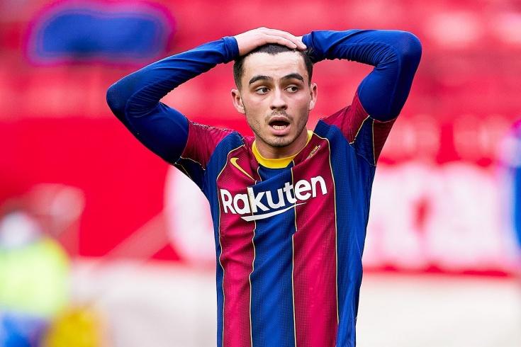 Педри стал игроком основы «Барселоны»