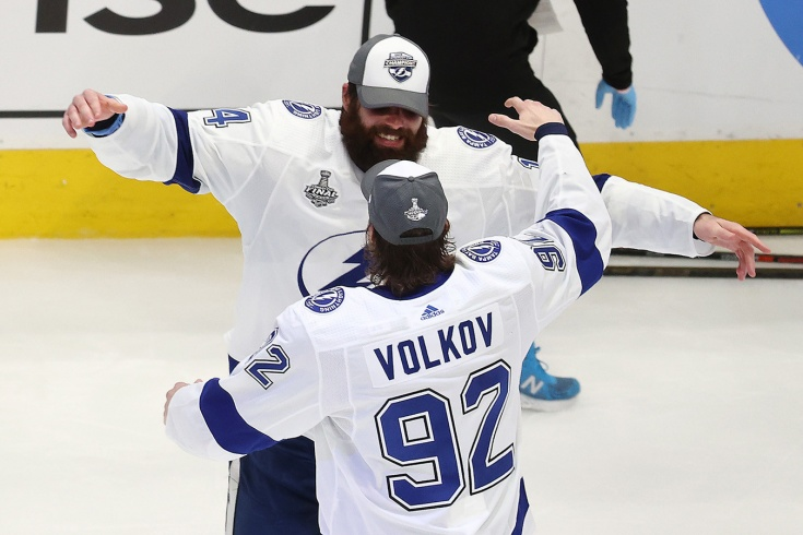 В финале Кубка Стэнли появился ещё один русский. Именно Волков первым запугал «Даллас»