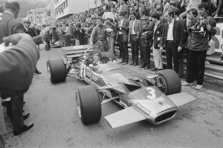 Чемпион Формулы-1 1970 года Йохен Риндт
