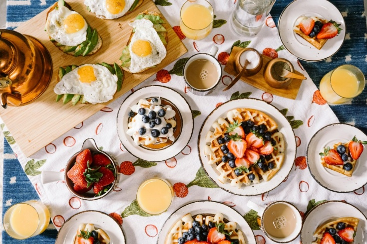 Где позавтракать в Москве, кафе и рестораны Москвы с завтраками весь день