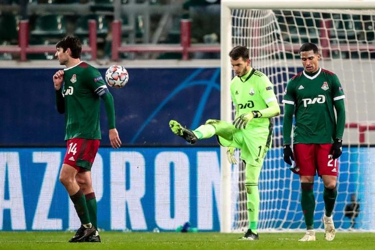 «Локомотив» – «Ред Булл Зальцбург» – 1:3, видео, голы, обзор матча, 1 декабря 2020 года, Лига чемпионов
