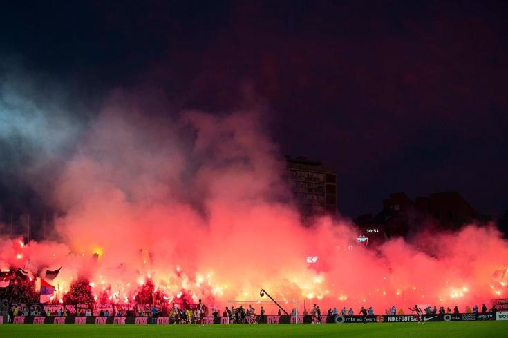 «Партизан» — «Црвена Звезда» — 1:0