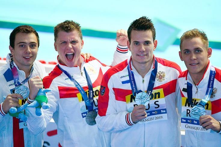 Российские пловцы устроили шоу на чемпионате мира