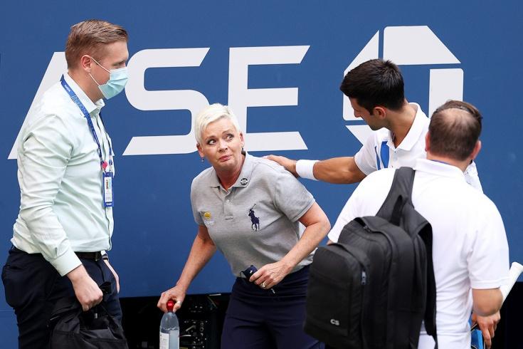 За что теннисистов дисквалифицировали во время матча: Джокович, Серена, Кирьос, Макинрой