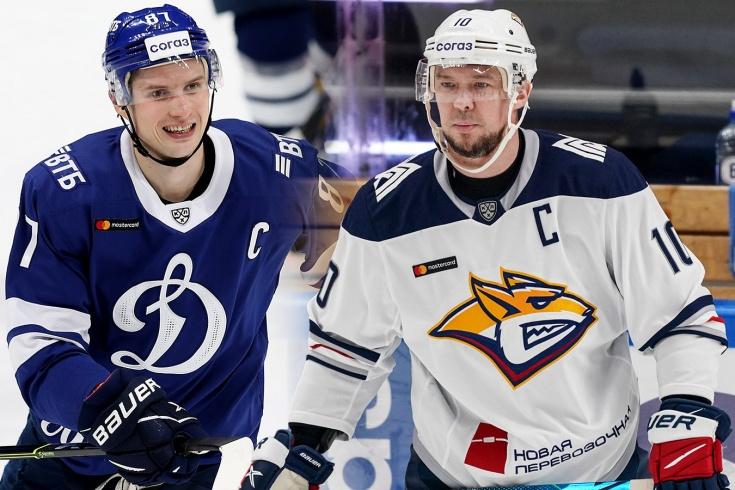 Как играют главные звёзды команд КХЛ в плей-офф