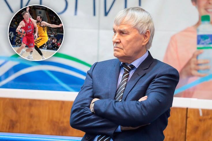 Президент БК «Автодор» Владимир Родионов
