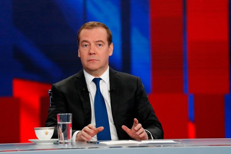 Премьер-министр Медведев — о допинге в российском