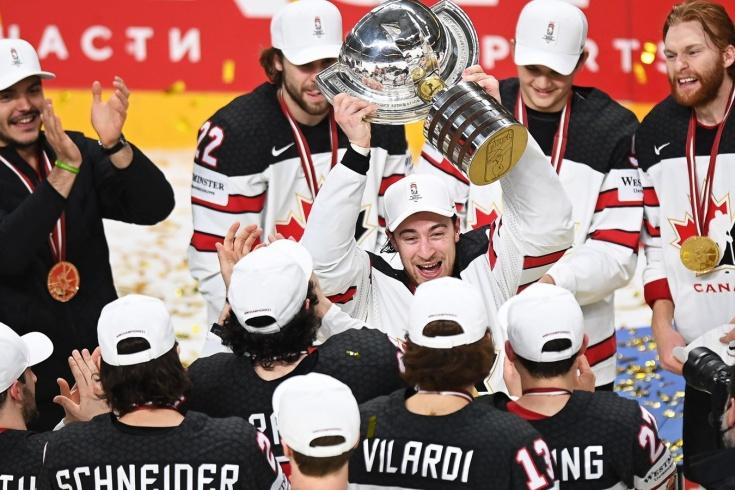 Сборная Канады – чемпион мира 2021 года по хоккею