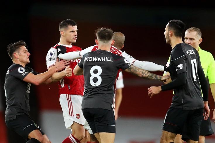 Джака снова подставляет «Арсенал». Может, уже пора на выход?