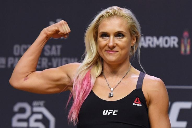 Яна Куницкая – о подготовке к бою с Юлией Столяренко на UFC Fight Night, интервью