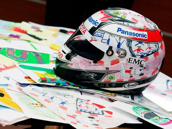 Новый шлем гонщика Себастьяна Феттеля (Red Bull Racing) | Пикабу | 490x653