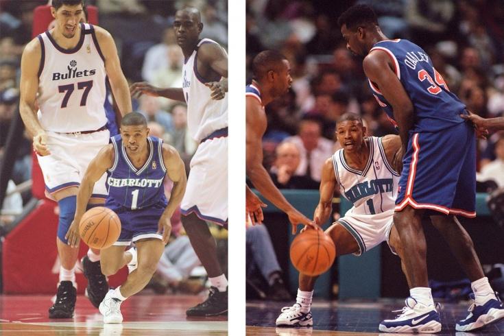 160-сантиметровый разыгрывающий Маггси Богз – самый низкорослый игрок в истории НБА