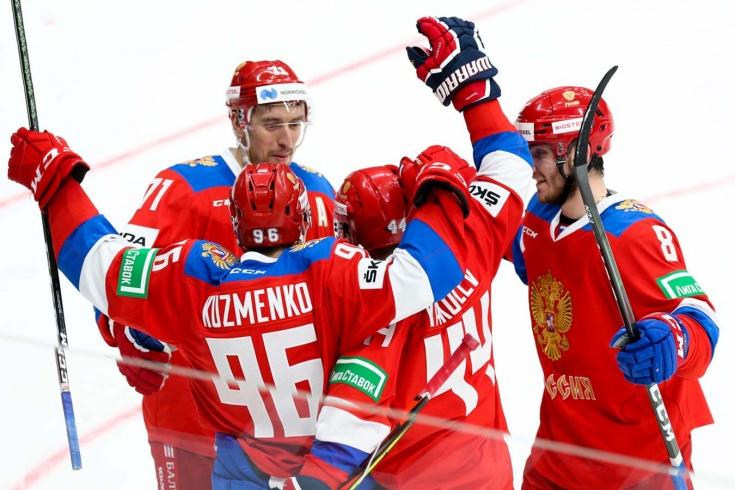Второй матч наших на домашнем этапе Евротура! Россия — Чехия. Онлайн