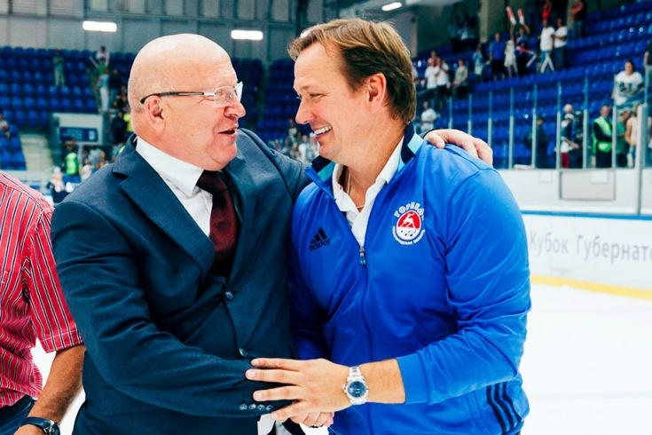 Валерий Шанцев и Петерис Скудра