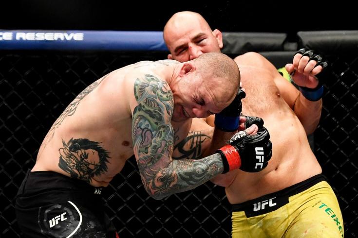 Смит проиграл Тейшейре на UFC Fight Night 171 14 мая