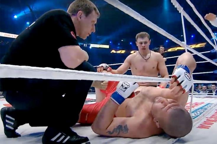 Максим Гришин – Гаджимурад Антигулов, бой UFC FN