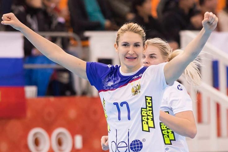 Женская сборная России вышла в полуфинал чемпионат