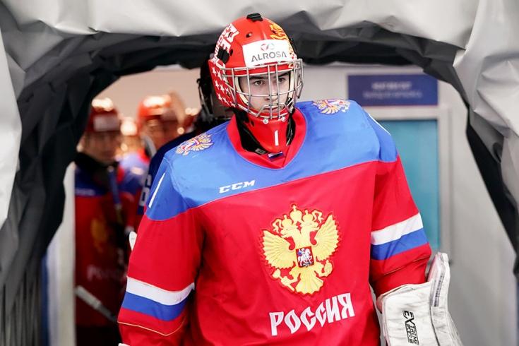 Ярослав Аскаров, голкипер сборной России U18