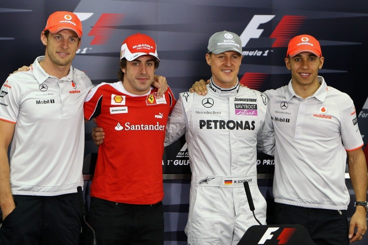 10 богатейших гонщиков Формулы-1