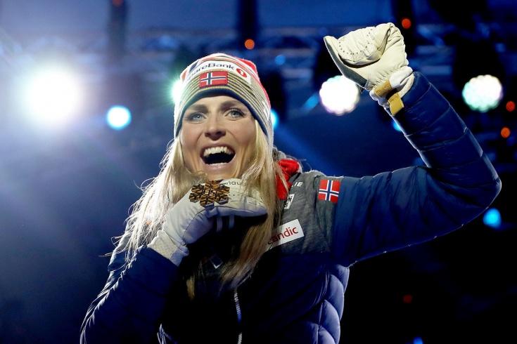 Йохауг отреагировала на обнаружение допинга у приз