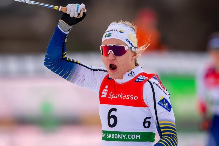 Шведские лыжники провели гонку во время пандемии