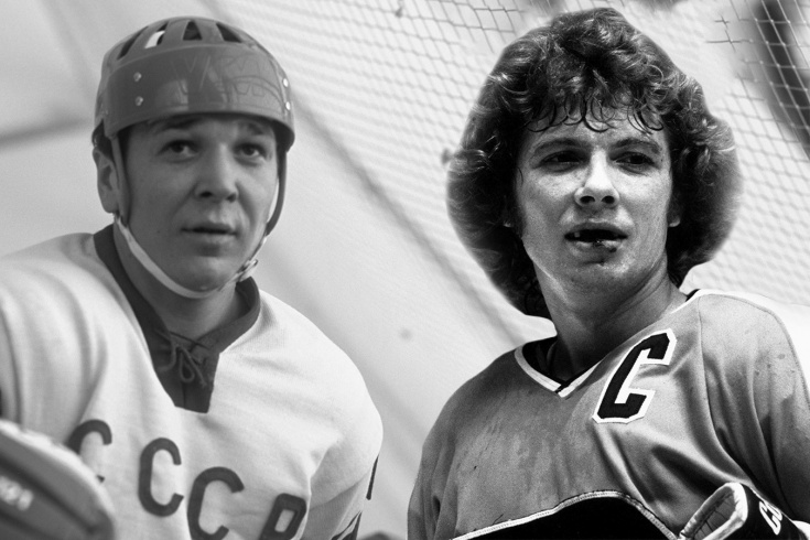 Как канадец Кларк запугивал сборную СССР. Подсёк Мальцева и треснул ему клюшкой по голове