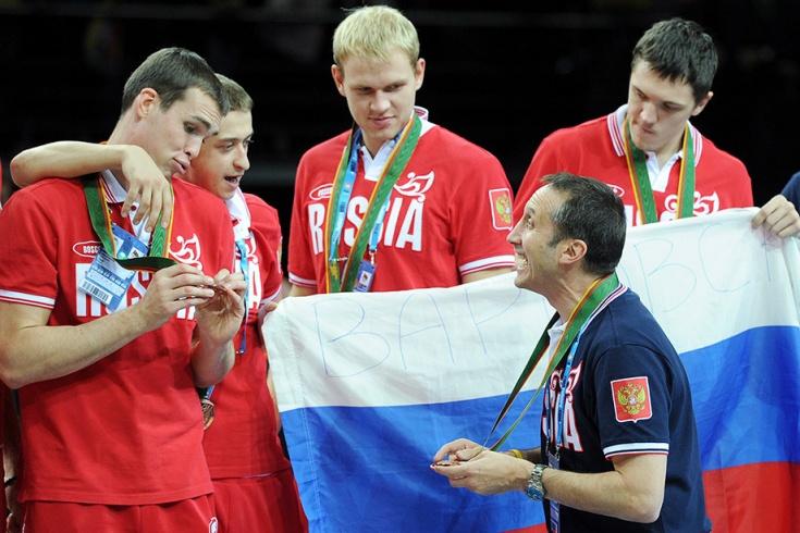 Как сборная России поддержала Блатта