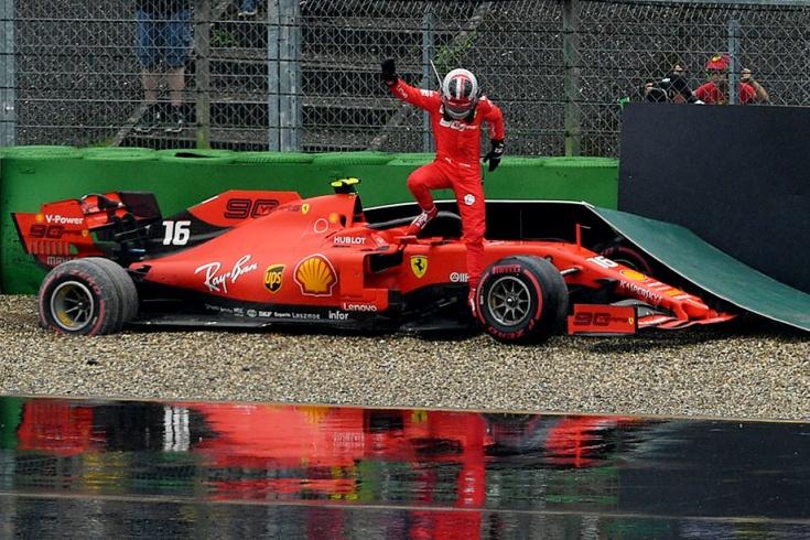 Гран-при Германии Формулы-1: ошибки «Феррари»