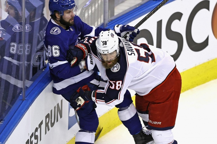 «Кучеров — один из самых подлых игроков НХЛ». В Америке обсуждают поведение русской звезды