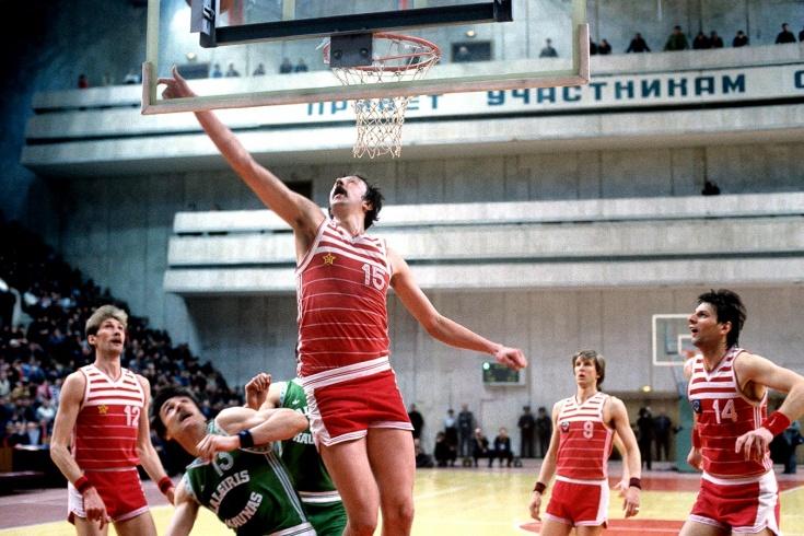 ЦСКА против «Жальгириса», суперсерии финала чемпионата СССР по баскетболу 1986 и 1987 года