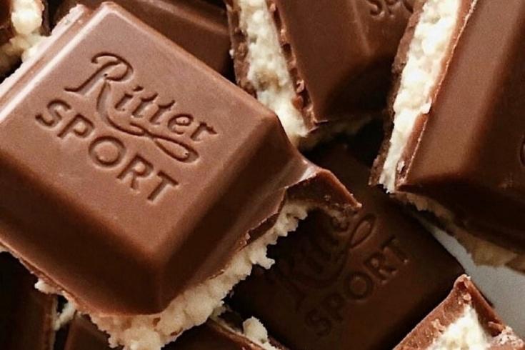 Почему шоколад Ritter Sport так называется, спортивный шоколад