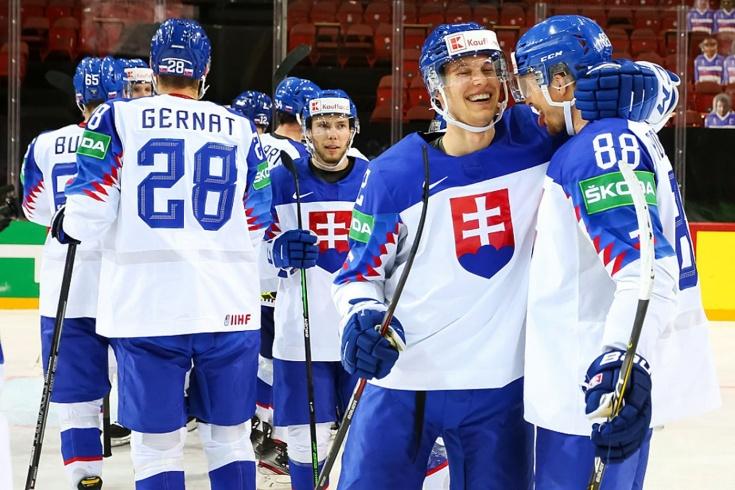 «Мы обыграли невероятную команду!» Счастье словаков после сенсационной победы над Россией