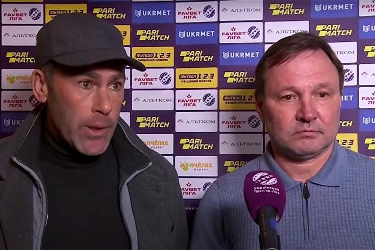 Скандал в чемпионате Украины по футболу