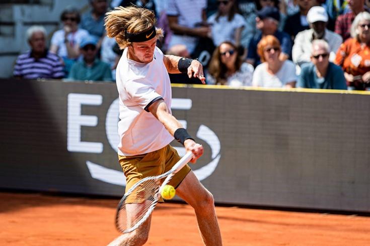 Андрей Рублёв стал финалистом турнира в Гамбурге