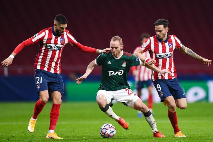 «Атлетико» – «Локомотив» – 0:0, обзор матча, 25 ноября 2020 года, Лига чемпионов